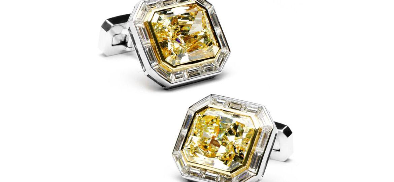 Jacob-Co.-Canary-Diamond-Cufflinks2